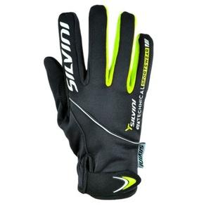 Damen Handschuhe Silvini ORTLES WA723 black, Silvini