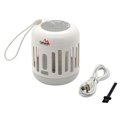 Leuchte MUSIC CAGE Cattara Bluetooth aufladen + UV falle insekt, Cattara