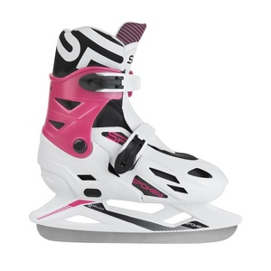 Winter Skates Spokey KRÄUSELUNG weiß-rosa geregelt, Spokey