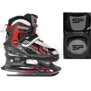 Skates Spokey FEAT 4IN1 schwarz und rot geregelt, Spokey