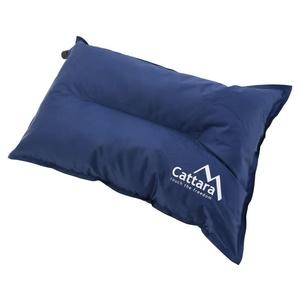 Kissen selbstaufblasend Cattara TWIN 42x28x12cm blau, Cattara
