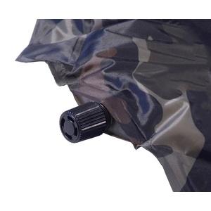 Isomatte selbstaufblasend mit kissen Cattara NAVY 2,5cm, Cattara