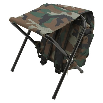 Stuhl klappbar mit rucksack Cattara OLBIA ARMYR, Cattara