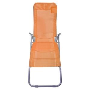 Liegestuhl wohnmobil klappbar Cattara PALERMO Orange, Cattara