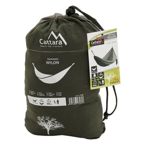 Schaukel Netz  sitzung Cattara NYLON 275x137cm grün-braun, Cattara