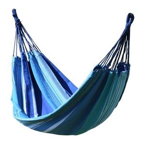 Schaukel Netz  sitzung Cattara TEXTILES 200x100cm blau/weiß