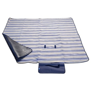 Picknick Decke Cattara FLEECE 150x135cm blue, Cattara