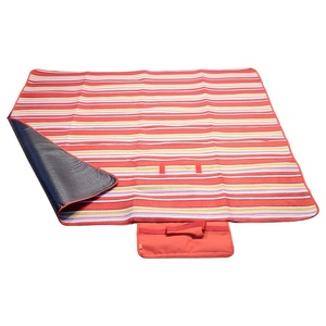 Picknick Decke Cattara FLEECE 150x135cm red, Cattara