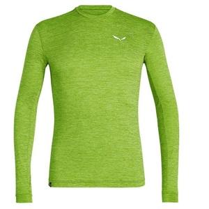T-Shirt Salewa Puez Puez MELANGE DRY M L/S TEE 27453-5257, Salewa
