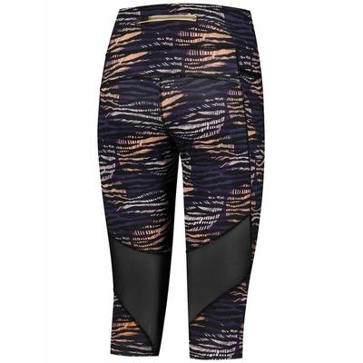 Damen Lauf 3/4 Shorts Rogelli INDIGO, lila-orange-schwarz 840.719, Rogelli