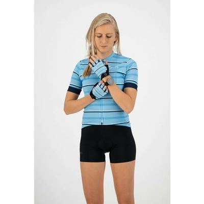 Damen Handschuhe  Fahrrad Rogelli STRIPE, light blau-blau 010.620, Rogelli