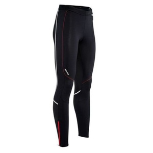 Herren elastische Hose Silvini MOVENZA MP1312 black red, Silvini