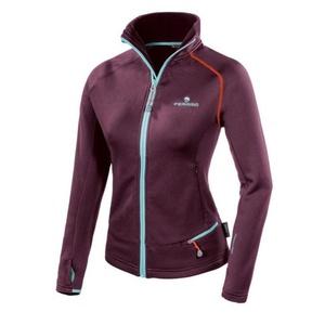 Damen Sweatshirt Ferrino Schwanzlich Jacket Woman pflaumen, Ferrino