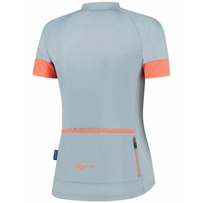 Damen Radsport Dress Rogelli MODESTA mit kurz Ärmeln, grau-blau-koralle 010.109, Rogelli