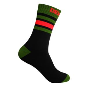 Socken DexShell Ultra Dri Sport Sock Black / Blaze orange, DexShell