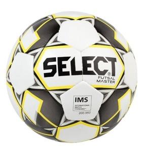 Futsal- Ball Select FB Futsal Master weiß yellow Grösse. 4, Select