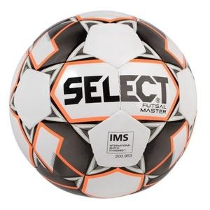 Futsal- Ball Select FB Futsal Master weiß Orange Grösse. 4, Select