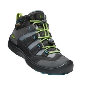 Kinder Schuhe Keen Wanderweg MID Strap WP Y, magnet / grün, Keen