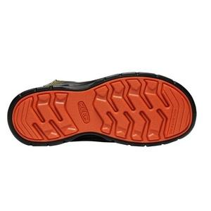 Kinder Schuhe Keen Wanderweg MID Strap WP Y, martini olive / püriert kürbis, Keen