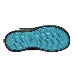 Kinder Schuhe Keen Wanderweg MID Strap WP C, magnet / grün, Keen