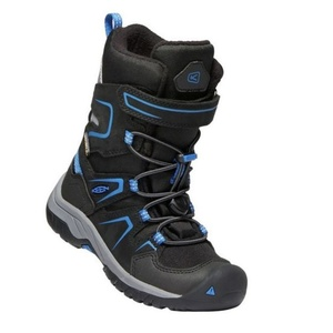 Kinder Schuhe Keen Levo Winter WP C, schwarz / baleine blue, Keen