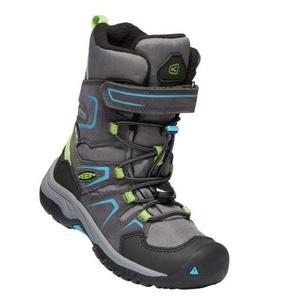 Kinder Schuhe Keen Levo Winter WP C, magnet / blau juwel, Keen