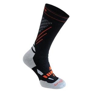 Socken Bridgedale Ski Nordic Race black/stone/850, bridgedale