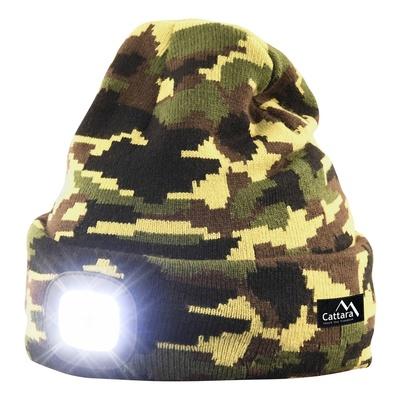 Caps ARMY mit LED Lampe Cattara USB laden
