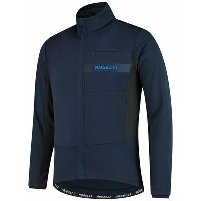 Softshell Radjacke Rogelli BARRIERE mit geht es isolierung, blue 003.136, Rogelli
