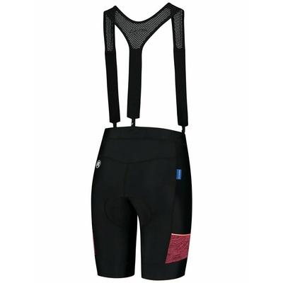 Damen Radsport Shorts Rogelli CHARME 2.0 mit gel futter, blackkoralle 010.291, Rogelli