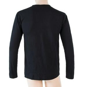 Herren T-Shirt Sensor MERINO ACTIVE PT LABEL black 18200016, Sensor