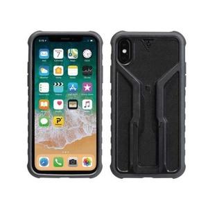 Hülle Topeak RideCase für iPhone X schwarz/grau TT9855BG, Topeak
