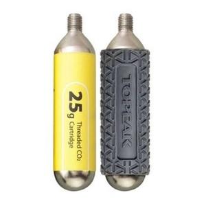 Füllung Topeak CO2 25g -2ks mit hülsen TCO25-3, Topeak