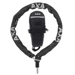 Schlüssel plugin Kette RLC 100/5,5 black + podsedlová Bag 59551195SC, AXA
