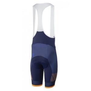 Cyklo Shorts Rogelli RITMO mit gel futter, blau-orange 002.265., Rogelli