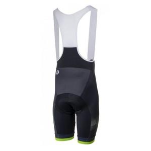 Radsport Shorts Rogelli ISPIRATO 2.0 mit gel radfahren, schwarz-reflektierende green 002.399., Rogelli