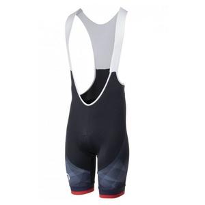 Radsport Shorts Rogelli ISPIRATO 2.0 mit gel radfahren, schwarz und rot 002.400., Rogelli