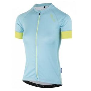 Damen Radsport Dress Rogelli MODESTA mit kurz Ärmeln, light türkisgelb 010.115, Rogelli