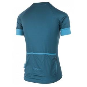 Damen Radsport Dress Rogelli MODESTA mit kurz Ärmeln, dark  türkisgelb 010.114, Rogelli