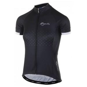 Damen Radsport Dress Rogelli PRIDE mit kurz Ärmeln a schneiden  Körper, schwarz und weiß 010.170., Rogelli