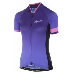 Damen premium Trikot Rogelli FLOW mit kurz Ärmeln, lila-pink 010.175., Rogelli
