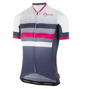 Am atmungsaktivsten Ladies Trikot Rogelli DOT- mit kurz Ärmeln, blau-pink 010.177., Rogelli