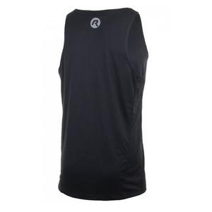 Sport- funktionell Tank Top/Shirt Rogelli BASIC von glatt material, black 800.230, Rogelli