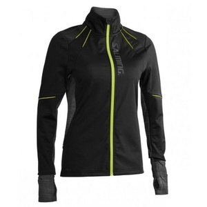 Jacke Salming Thermal Wind Jacket Women Black/Black Melange, Salming