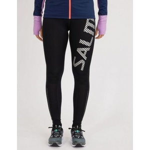 Leggings Salming Logo Tights 2.0 Women Black/Silver Reflective, Salming