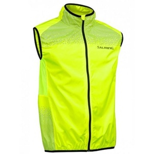 Herren Lauf Weste Salming Skyline Vest Men Safety Yellow, Salming