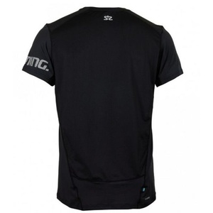Herren T-Shirt Salming Laser Tee Men Black, Salming
