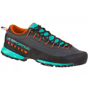 Schuhe La Sportiva TX4 Woman Kohlenstoff / Aqua, La Sportiva
