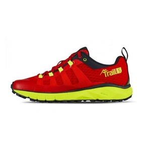 Schuhe Salming Trail 5 Women Poppy Rot / Sicherheit Yellow, Salming