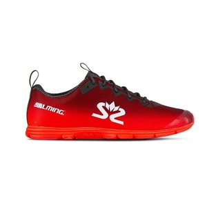Schuhe Salming Race 7 Women Geschmiedet eisen / mohn Red, Salming